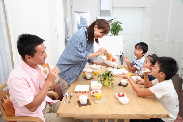 夢占い「家族で食事」に関する夢の診断結果