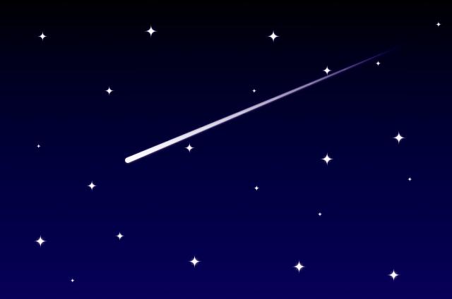 夢占い「流れ星」に関する夢の診断結果