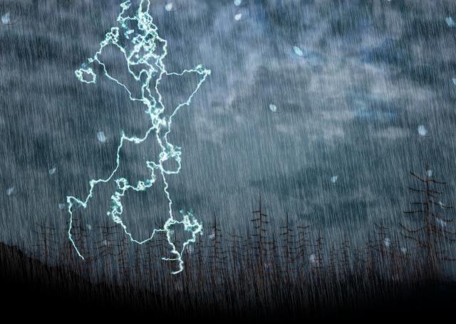 「雷」に関する夢占いの診断結果一覧