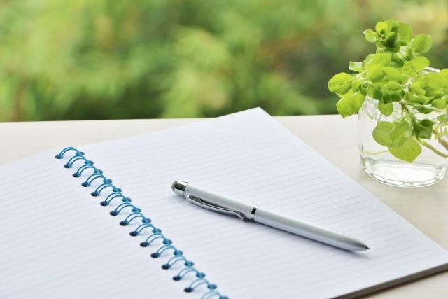 夢占い「ノート」に関する夢の診断結果